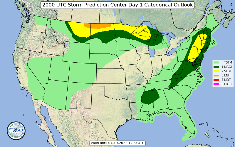 Day 1 Convective Outlook